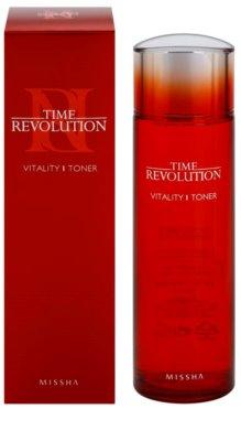 Missha Time Revolution vitalizující toner pro unavenou pleť 1