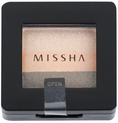 Missha The Style trio тіні для повік 1