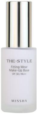 Missha The Style prebase de maquillaje
