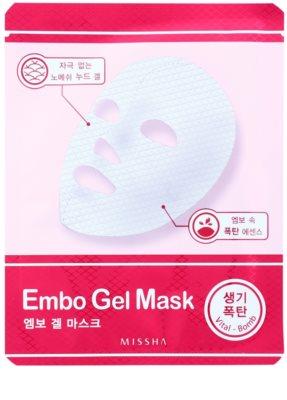 Missha Vital Bomb vitalizáló géles maszk
