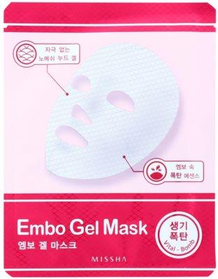Missha Vital Bomb vitalizující gelová maska
