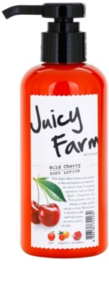 Missha Juicy Farm Wild Cherry leite corporal