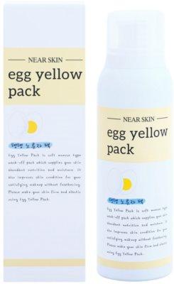 Missha Near Skin Egg Yellow Pack Masca de spumă cu extract din gălbenuș de ou 1