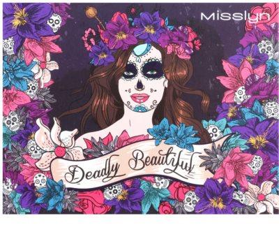 Misslyn Deadly Beautiful paleta pentru intreaga fata cu oglinda mica 1