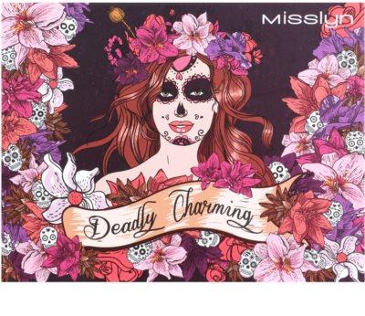 Misslyn Deadly Charming paletka do całej twarzy z lusterkiem 1