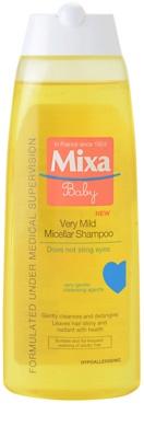 MIXA Baby supersanftes mizellares Shampoo für Kinder