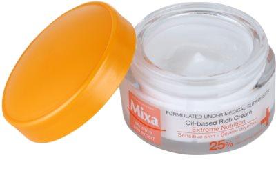MIXA Extreme Nutrition обогатен крем с масло от вечерна иглика и овлажняващи съставки 1