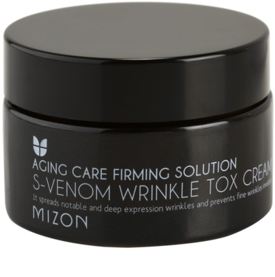 Mizon Aging Care Firming Solution Anti-Faltencreme mit Schlangengift