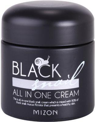 Mizon Black Snail крем за лице  с филтрат на охлювен секрет 90%