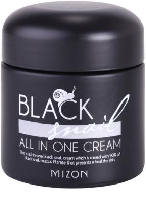 Mizon Black Snail крем для обличчя з екстрактом равлика 90%
