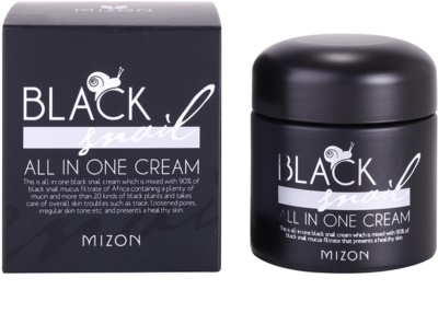 Mizon Black Snail крем для обличчя з екстрактом равлика 90% 2