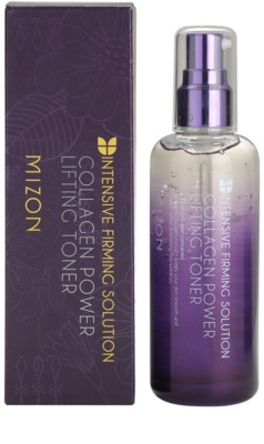 Mizon Intensive Firming Solution Collagen Power toner piele cu efect lifting 2