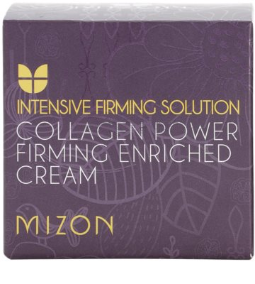 Mizon Intensive Firming Solution Collagen Power feszesítő krém a ráncok ellen 4