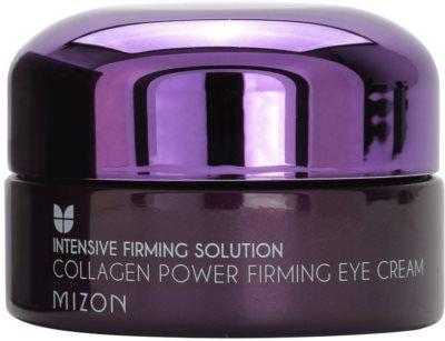 Mizon Intensive Firming Solution Collagen Power creme contornos de olhos refirmante antirrugas, anti-olheiras, anti-inchaços