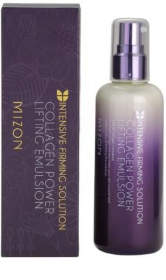 Mizon Intensive Firming Solution Collagen Power emulsie pentru curatare cu efect lifting 2
