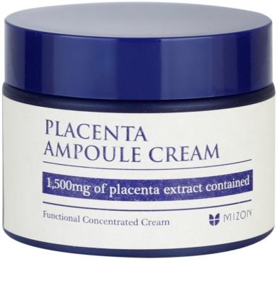 Mizon Placenta Ampoule Cream creme para regeneração e renovação de pele