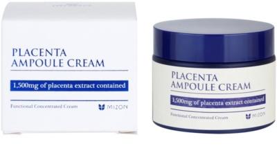 Mizon Placenta Ampoule Cream krém  az arcbőr regenerálására és megújítására 2