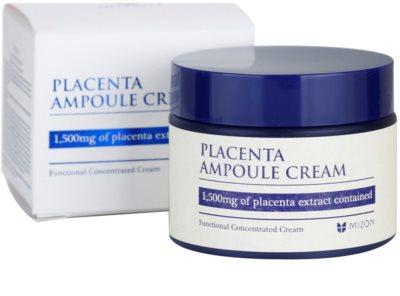 Mizon Placenta Ampoule Cream krém  az arcbőr regenerálására és megújítására 3
