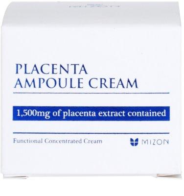 Mizon Placenta Ampoule Cream krém  az arcbőr regenerálására és megújítására 4