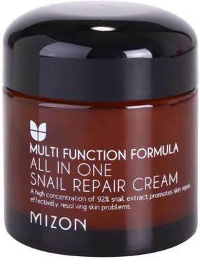 Mizon Multi Function Formula регенериращ крем с филтрат на охлювен секрет 92%