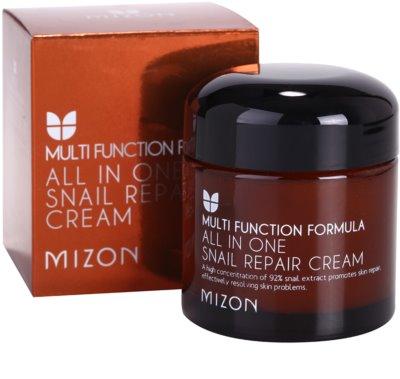 Mizon Multi Function Formula krem regenerujący z ekstraktem ze śluzu z ślimaka 92% 2