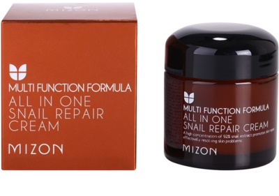 Mizon Multi Function Formula crema regeneratoare cu extract de melc 92% 3