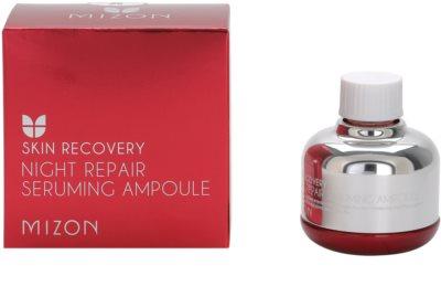 Mizon Skin Recovery ser de noapte regenerator pentru ten obosit 2