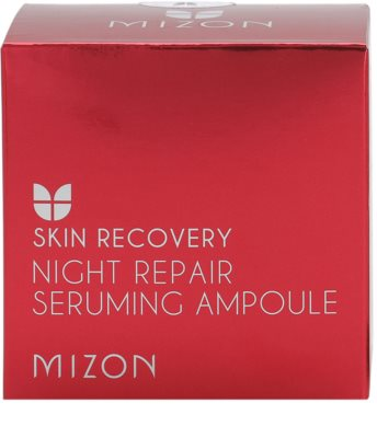 Mizon Skin Recovery ser de noapte regenerator pentru ten obosit 3