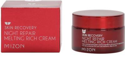 Mizon Skin Recovery crema de noapte pentru reintinerire pentru o piele mai luminoasa 2