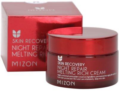 Mizon Skin Recovery crema de noapte pentru reintinerire pentru o piele mai luminoasa 3