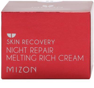 Mizon Skin Recovery crema de noapte pentru reintinerire pentru o piele mai luminoasa 4