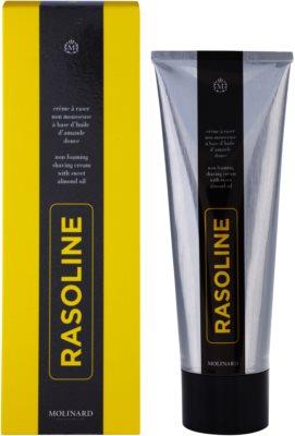 Molinard Rasoline borotválkozási krém mandulaolajjal