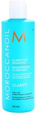 Moroccanoil Clarify hloubkově čisticí šampon pro namáhané a poškozené vlasy