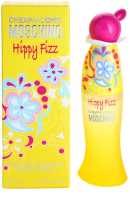 Moschino Hippy Fizz desodorizante vaporizador para mulheres
