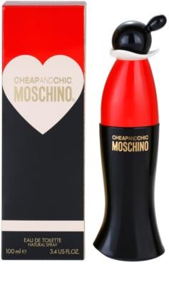 Moschino Cheap & Chic eau de toilette nőknek