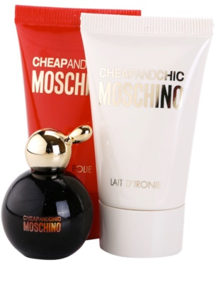Moschino Cheap & Chic coffrets presente 1