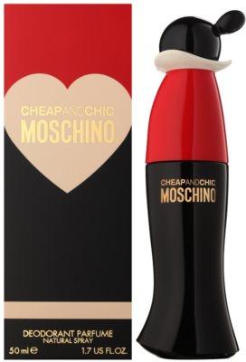 Moschino Cheap & Chic deodorant s rozprašovačem pro ženy