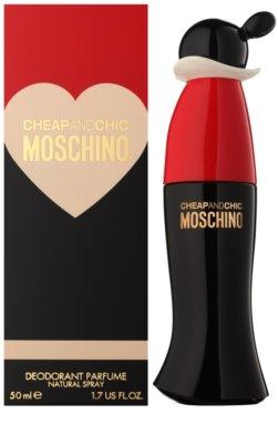 Moschino Cheap & Chic desodorizante vaporizador para mulheres