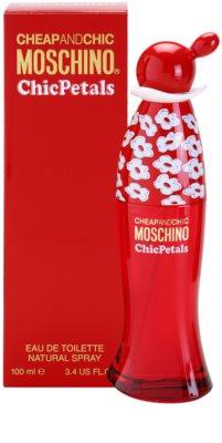 Moschino Cheap & Chic Chic Petals Eau de Toilette para mulheres 1