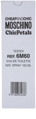 Moschino Cheap & Chic Chic Petals туалетна вода тестер для жінок 4