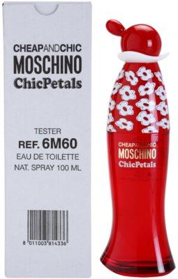 Moschino Cheap & Chic Chic Petals туалетна вода тестер для жінок 2