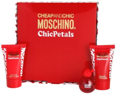 Moschino Cheap & Chic Chic Petals lotes de regalo