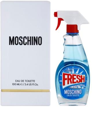 Moschino Fresh Couture Eau de Toilette para mulheres