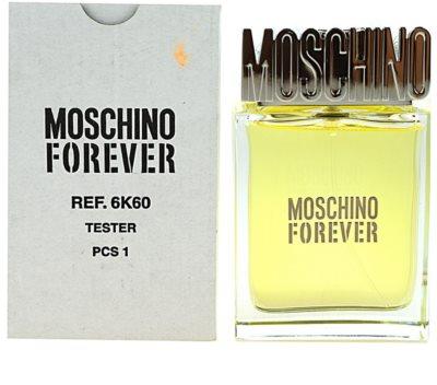 Moschino Forever тоалетна вода тестер за мъже 1