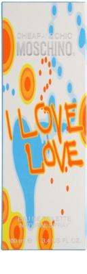 Moschino I Love Love Eau de Toilette für Damen 4