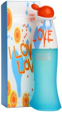 Moschino I Love Love Eau de Toilette für Damen 1