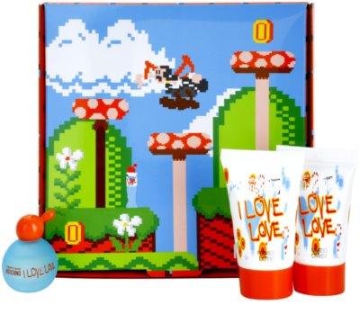 Moschino I Love Love ajándékszettek