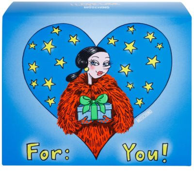 Moschino I Love Love set cadou 3