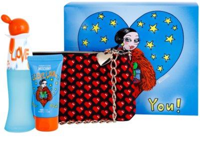 Moschino I Love Love set cadou