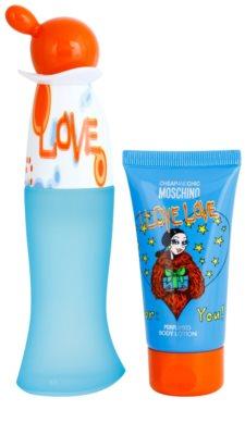 Moschino I Love Love set cadou 2